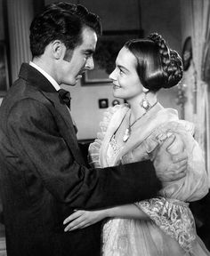 THE HEIRESS (1949), with Montgomery Clift.