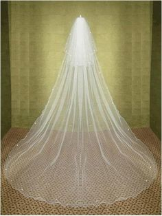 116 inches 3 layers bridals veils Long bride by ClothingLoves, $15.00