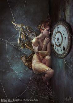 Le Cabinet de Curiosites - Clockwork Fairy by AlexandraVBach on deviantART