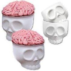 Skull Cupcake Molds Set