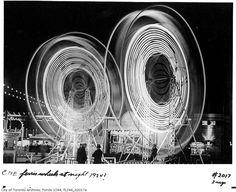 Toronto CNE Ferris wheel in 1924