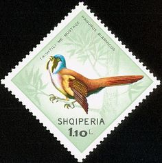 Stamp%3A%20Bearded%20Reedling%20(Panurus%20biarmicus)%20(Albania)%20(Birds)%20Mi%3AAL%201326%2CSn%3AAL%201198%2CYt%3AAL%201142%20%23colnect%20%23collection%20%23stamps