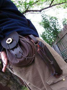 Leather Belt kit by Howling Dingo, via Flickr