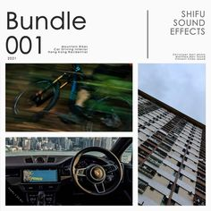 Bundle 001 - SHIFU SOUND EFFECTScontains the following three libraries in one bundle. Mountain Bikes 2021 Hong Kong Residential 2021 Car Interior Driving 2021