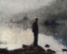 Looking at the River, thinking of the Sea. -- Anne Magill