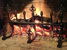 """TIME magazine called it """"The Physicist's Fire."""" Discover how to put the laws of physics to work in your fireplace with the grate that opens up the hottest part of the fire to the room. Using split or unsplit logs, you can keep a fire going for many hours with little effort."""