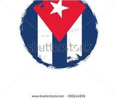 Grunge Cuba Flag Vector Art #cuba #cuban #cubase #cubancigar #CUBANO #