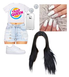 """""""Untitled #274"""" by queen-ayanna on Polyvore featuring NIKE, LifeProof and Kobelli"""