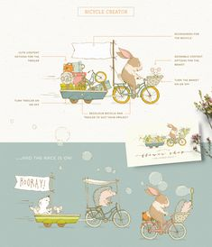 Create beautiful illustrated designs in minutes with the Magical Scene Creator! Perfect for greetings cards, books, posters, branding and so much more! #affiliate