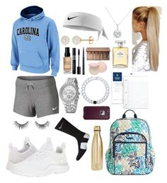"""""""Athletic 3"""" by ella-goodness on Polyvore featuring NIKE, Vera Bradley, Lokai, Belk & Co., S'well, Bobbi Brown Cosmetics, LifeProof, Chanel, Christian Dior and MAC Cosmetics"""