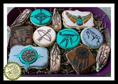 Native American Cookies | Cookie Connection