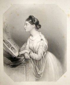 bumble button: Lovely old Victorian engravings of beautiful women early - mid 1800's