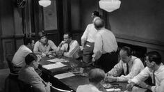 Conflict, Groupthink, classic example. 12 Angry Men (1957), via YouTube.