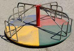 """1393:"""" Merry-Go-Round"""" Childs Playground Equipment : Lot 1393"""