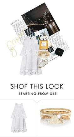 """J'adore."" by nurinur ❤ liked on Polyvore featuring Chanel and River Island"