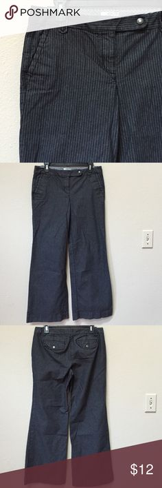 "Ann Taylor LOFT Marisa pant Gently worn pair of Ann Taylor LOFT pants. Size 6. Approximate inseam is 30"" and approximate waist measurement is 16.5"" across. Excellent condition! LOFT Pants"