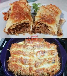 Cookbook Recipes, Cooking Recipes, Greek Recipes, Crepes, Pasta Dishes, Food Styling, Brunch, Easy Meals, Kai