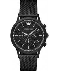 Mens Emporio Armani Mens Classic Black Steel Mesh Watch 249.00 Watches2U