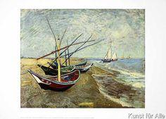 Vincent van Gogh - Boote
