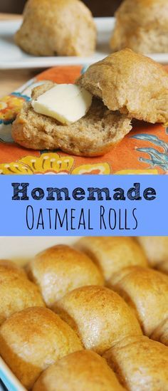 Homemade Oatmeal Rolls - old-fashioned oatmeal rolls recipe! This creates the…
