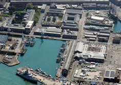 solar array installed at Portsmouth Naval Base