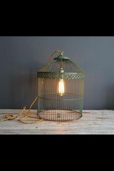Trendy bird cage light diy birdcage chandelier ideas, The bird cage is equally a property for the birds and a decorative tool. You are able to select anything you want on the list of bird cage designs and get much more specific images. Birdcage Light, Birdcage Chandelier, Chandelier Lighting, Chandelier Ideas, Chandeliers, Diy Luz, Diy Lampe, Deco Retro, Bird Cages