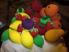 Awesome #crochet Amigurumi food by the ever-talented Amber!