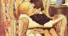 Vintage Boys, Vintage Children's Books, Vintage Tea, Illustration Techniques, Tea Roses, Learn To Read, Childrens Books, Books To Read, Vintage Illustrations