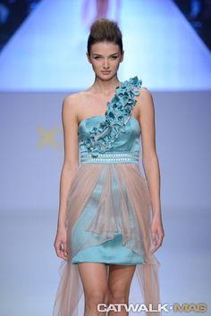 Anastasia Dosi 2014 SS One Shoulder, Shoulder Dress, Anastasia, Formal Dresses, Collections, Design, Fashion, Dresses For Formal, Moda