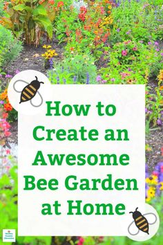 to Build An Awesome Bee Garden at Home Design and layout a bee garden for your yard. What, when and how to grow a bee garden. Design and layout a bee garden for your yard. What, when and how to grow a bee garden. Beautiful Flowers Garden, Beautiful Gardens, Design Jardin, Garden Design, Gardening For Beginners, Gardening Tips, Fairy Gardening, Gardening Services, Flower Gardening
