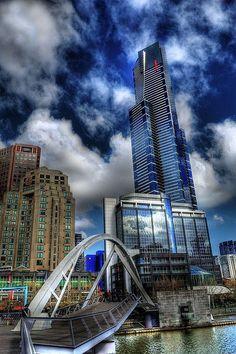 Love this! Eureka Tower, Southbank - Melbourne, Australia #australiapictures #AustraliaTravelAwesome