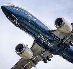 Una toma diferente del B737MAX #B737 #BoeingLovers