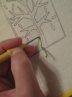 The What's, Why's and How's of Punch Needling ... http://www.hellocraft.com/2010/09/the-whats-whys-and-hows-of-punch-needling/