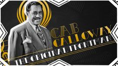 Cab Calloway: The Original Frontman Jazz Club, American Country, Kinds Of Music, Music Rooms, Songs, The Originals, Youtube, Music, Music Classroom