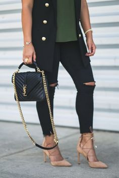 Need this medium college YSL bag in my life