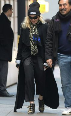 Madonna arrived to the Kabbalah Centre in New York (March 15, 2014) :: MadonnaGlam