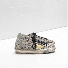 Golden Goose DB Super Star Sneakers GGDB Donna Scarpe Leopard Doro GGDB Scarpe - Golden Goose GGDB SuperStar