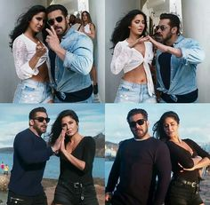 TIGER AND ZOYA Bollywood Couples, Bollywood Stars, Salman Katrina, Katrina Kaif Images, Salman Khan Photo, Handsome Celebrities, Jennifer Winget, Living Legends, Best Friends Forever
