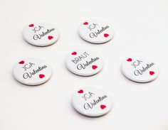 elegant & simple buttons for a casino bachelorette party - magnetic badges are compatible with fine clothes! no holes whatsoever. Casino Wedding, Button Badge, Badges, Buttons, Elegant, Simple, Etsy, Party, Clothes