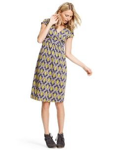 Casual Jersey Dress WH760 Day Dresses at Boden