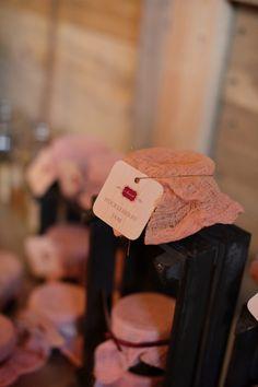 Rustic Chic Montana Wedding Michele M. Waite  - wedding favor idea