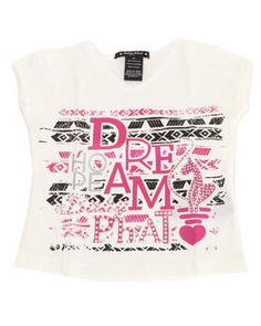 Buy DREAM TEE (2T-4T) Girls Tops from Baby Phat. Find Baby Phat fashions & more at DrJays.com