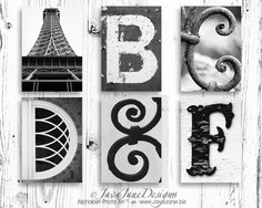 Great place for Alphabet Photo Art!