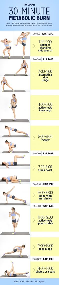 30-minute Metabolic Burn