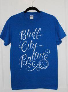 3a7133162 Bluff City Ballin Tshirt by DylanKailArt on Etsy