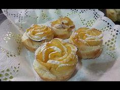 ▶ Rosa de hojaldre con manzana - YouTube