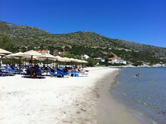 Psili Amos beach, Samos Island, Greece