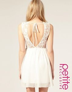 backless dress (asos)