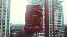 Long time no see Japan. This tohata caramel corn reminds me of my suitcase that full of it.