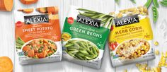 Alexia Frozen Vegetables Package Design - Sloat Design Group